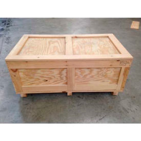 "wood crate two-way entry, 48"" l x 24"" w x 30"" h Wood Crate Two-Way Entry, 48"" L x 24"" W x 30"" H"