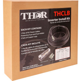 thor thfbcbl10ft1/0, 1/0 awt install kit-set of 10 foot 1/0 dc cables with anl fuse and block THOR THFBCBL10FT1/0, 1/0 AWT Install Kit-Set of 10 Foot 1/0 DC cables with ANL Fuse and Block