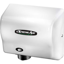 american dryer extremeair high speed compact hand dryer - white abs gxt9 American Dryer ExtremeAir High Speed Compact Hand Dryer - White ABS GXT9