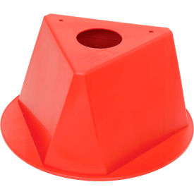 055RED Inventory Cone Red 3-Sided