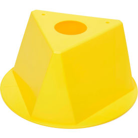 055YELLOW Inventory Cone Yellow 3-Sided