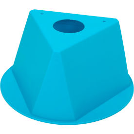 055TURQUOISE Inventory Cone Turquoise 3-Sided