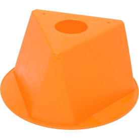 055ORANGE Inventory Cone Orange 3-Sided