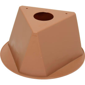 055TAN Inventory Cone Tan 3-Sided