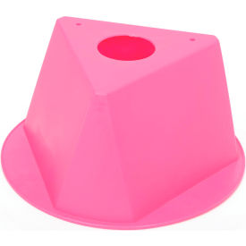 055HOT PINK Inventory Cone Hot Pink 3-Sided