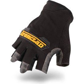 ironclad mfi2-04l mach 5® fingerless gloves, 1 pair, black , large Ironclad MFI2-04L Mach 5® Fingerless Gloves, 1 Pair, Black , Large