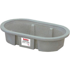 behlen country poly stock tank 52110047gt 2x1x4 shallow round end 50 gallon Behlen Country Poly Stock Tank 52110047GT 2x1x4 Shallow Round End 50 Gallon