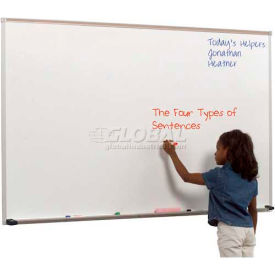 "212AD Balt; Dura-Rite Markerboard with Deluxe Aluminum Trim 48""W x 48""H"