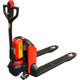 ballymore ballypal45n-27 self-propelled lithium ion powered pallet jack truck - 4500 lb. capacity Ballymore BALLYPAL45N-27 Self-Propelled Lithium Ion Powered Pallet Jack Truck - 4500 Lb. Capacity