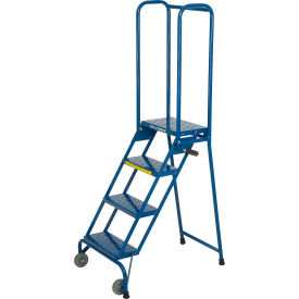 LS42410 4 Step Modified Lock-N-Stock Folding Ladder - LS42410