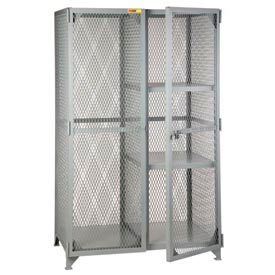 SLC-2-3060 Little Giant;  Combination Cabinet Locker with 2 Half Shelves, 30 x 60