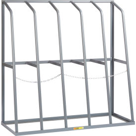 "little giant® br-2460-60 vertical bar rack 24""d x 60""w x 60""h - 5 bays, 1500 lb cap. per bay Little Giant® BR-2460-60 Vertical Bar Rack 24""D x 60""W x 60""H - 5 Bays, 1500 LB Cap. Per Bay"