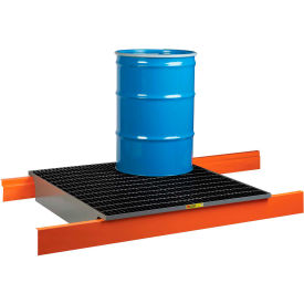 "little giant rack decking w/spill control sump ss-rd-5149-42 - 51x49x8.5, fits 42"" deep pallet racks Little Giant Rack Decking w/Spill Control Sump SS-RD-5149-42 - 51x49x8.5, Fits 42"" Deep Pallet Racks"