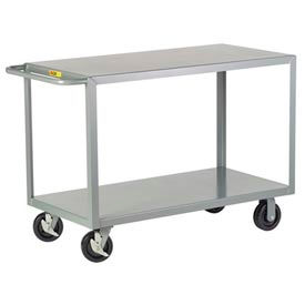 2G-3048-6PHBK Little Giant; HD Welded Shelf Truck 2G-3048-6PHBK, 2 Flush Shelves, 30 x 48