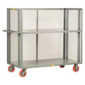 T2-A-2460-6PY Little Giant; 3-Sided Adjustable Truck T2-A-2460-6PY, Mesh Sides, 24 x 60