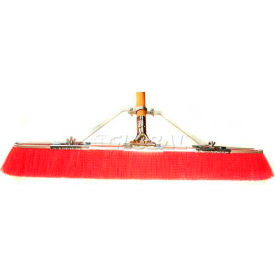 "bruske 29"" floor brush w/brace & handle 2116-cw-x, red Bruske 29"" Floor Brush w/Brace & Handle 2116-CW-X, Red"