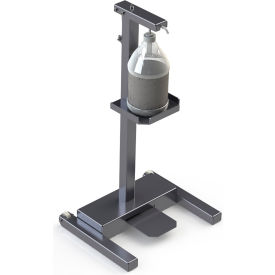 built systems carbon steel hands-free sanitizer station, metallic silver - 122877-00ms Built Systems Carbon Steel Hands-Free Sanitizer Station, Metallic Silver - 122877-00MS