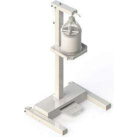 built systems carbon steel hands-free sanitizer station, white - 122877-0405 Built Systems Carbon Steel Hands-Free Sanitizer Station, White - 122877-0405