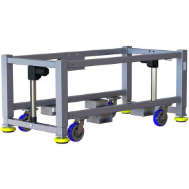 "built systems 84""w x 24""d machine base - 1200lb capacity - gray Built Systems 84""W x 24""D Machine Base - 1200LB Capacity - Gray"
