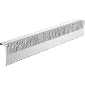 baseboarders® basic series 3 ft steel easy slip-on baseboard heater cover, white Baseboarders® Basic Series 3 ft Steel Easy Slip-on Baseboard Heater Cover, White