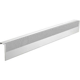 baseboarders® basic series 4 ft steel easy slip-on baseboard heater cover, white Baseboarders® Basic Series 4 ft Steel Easy Slip-on Baseboard Heater Cover, White