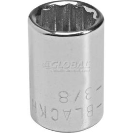"GW-1714 Blackhawk GW-1714 1/4"" Drive 7/16"" 12 Point Full Polish Socket"