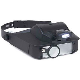 LV-10 Carson; LV-10 LumiVisor; LED Lighted 2x/3x/5x/6x Head Worn Magnifier