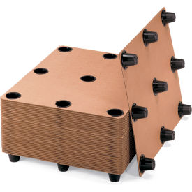 826 Protecta-Pack Systems Corrugated Pallets - 9 Legs