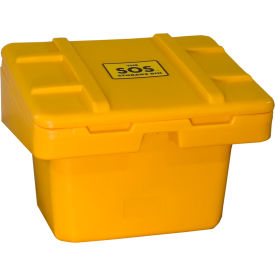 "SOS 5.5-YELLOW Techstar SOS Outdoor Storage Container 30"" x 24"" x 23"" - 5.5 Cu. Ft. - Yellow"