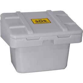 "SOS 5.5-LT. GRAY Techstar SOS Outdoor Storage Container 30"" x 24"" x 23"" - 5.5 Cu. Ft. - Light Gray"