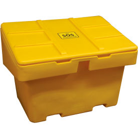 "SOS 18.5-YELLOW Techstar SOS Outdoor Storage Container 48"" x 33"" x 34""  - 18.5 Cu. Ft. - Yellow"