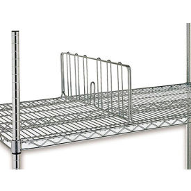 "DD18C 7""H Shelf Divider For Open Wire Shelving - 18"""