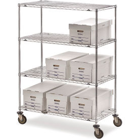 "5444200 Metro Super Erecta Shelf Trucks with Wire Shelves - 36"" Wx18"" D Shelf - 68"" H"
