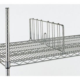 "DD24C Metro 8""H Shelf Dividers For Open-Wire Shelving - 24"""