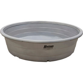 "hastings poly stock tank hp206 round 320 gallon 74""l x 74""w x 24""h with drain plug  - gray Hastings Poly Stock Tank HP206 Round 320 Gallon 74""L x 74""W x 24""H with Drain Plug  - Gray"