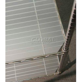 GSM 10 Translucent Shelf Liner 14 x 42