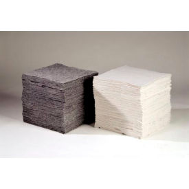 "OILM1087 Chemtex OILM1087 Sorbent Eco-Friendly Pads, Universal,16"" x 18"", Heavy Weight, Cotton, 100/Pack"