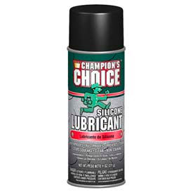 438-5351 Champions Choice Silicone Lubricant 11 oz. Can, 12 Cans/Case - 438-5351