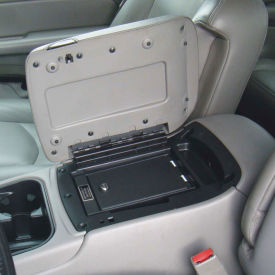 console vault vehicle safe 1002-kl for gm bucket seat - 03-06 key lock