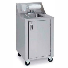 crown verity® cv-phs-4 portable space saver sink, complete station, hot/cold Crown Verity® CV-PHS-4 Portable Space Saver Sink, Complete Station, Hot/Cold