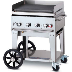 "crown verity mobile outdoor griddle 30"" lp - mg-30 Crown Verity Mobile Outdoor Griddle 30"" LP - MG-30"