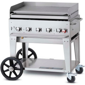 "crown verity mobile outdoor griddle 36"" ng - mg-36 Crown Verity Mobile Outdoor Griddle 36"" NG - MG-36"