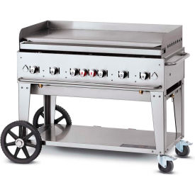 "crown verity mobile outdoor griddle 48"" lp - mg-48 Crown Verity Mobile Outdoor Griddle 48"" LP - MG-48"
