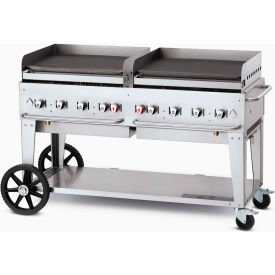 "crown verity mobile outdoor griddle 60"" lp - mg-60 Crown Verity Mobile Outdoor Griddle 60"" LP - MG-60"