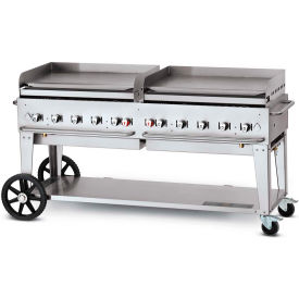 "crown verity mobile outdoor griddle 72"" lp - mg-72 Crown Verity Mobile Outdoor Griddle 72"" LP - MG-72"