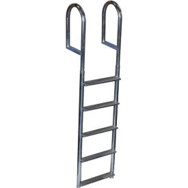dock edge dock ladder 5 step fixed wide step, welded aluminum - 2045-f Dock Edge Dock Ladder 5 Step Fixed Wide Step, Welded Aluminum - 2045-F