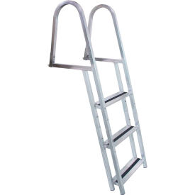 dock edge dock ladder 3 step stand off, aluminum - 2053-f Dock Edge Dock Ladder 3 Step Stand Off, Aluminum - 2053-F