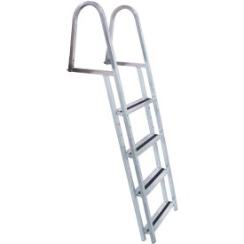 dock edge dock ladder 4 step stand off, aluminum - 2054-f Dock Edge Dock Ladder 4 Step Stand Off, Aluminum - 2054-F
