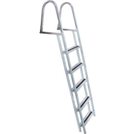 dock edge dock ladder 5 step stand off, aluminum - 2055-f Dock Edge Dock Ladder 5 Step Stand Off, Aluminum - 2055-F