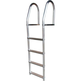 dock edge dock ladder 4 step fixed eco weld free, aluminum - 2074-f Dock Edge Dock Ladder 4 Step Fixed ECO Weld Free, Aluminum - 2074-F